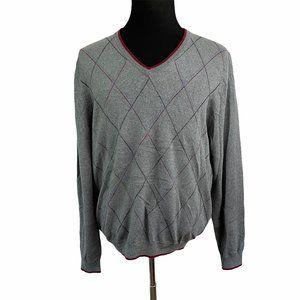 Brook Brothers Merino Wool V Neck Sweater